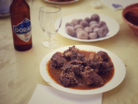 Carne de cabra   Restaurante Roque de Ánimas   Taganana