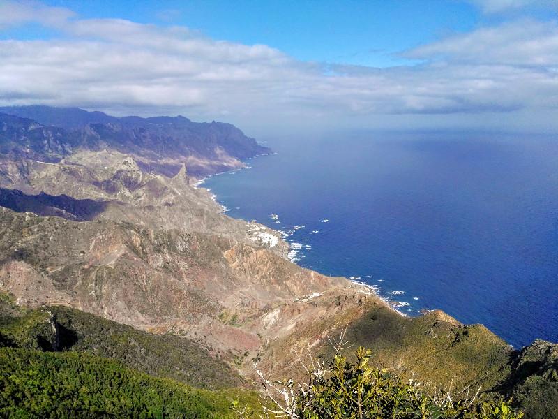 Vistas desde el Mirador del Tejo | El Bosque Encantado de Anaga | Tenerife
