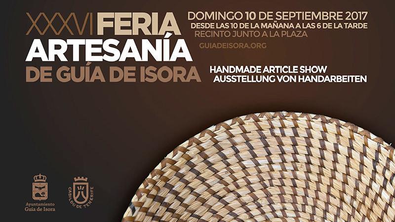 36ª Feria de Artesanía | Guia de Isora | Tenerife | Cartel