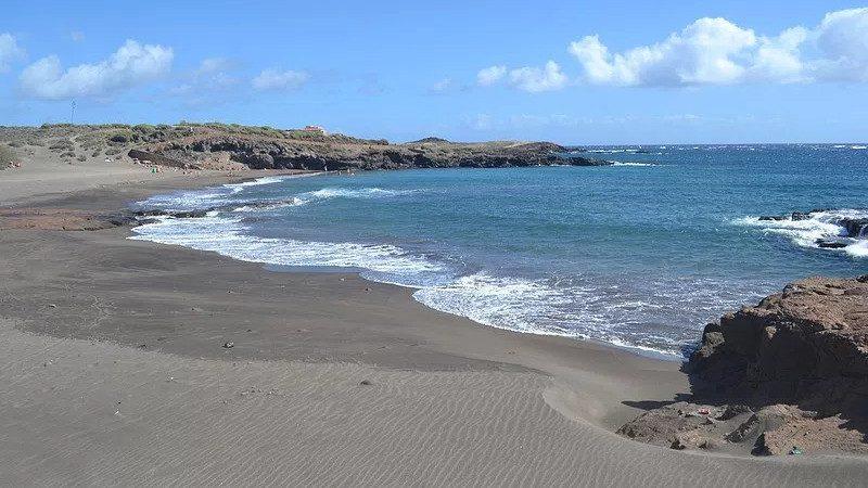 Playa de Los Abriguitos en Abades
