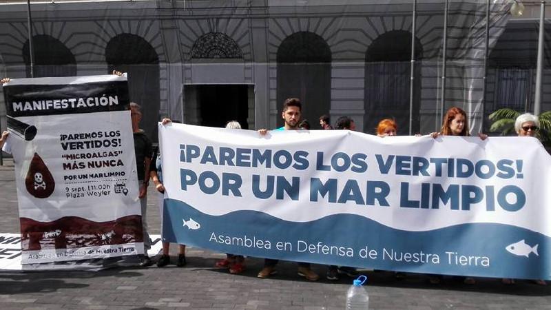 Manifestación | Paremos los Vertidos - Por un Mar Limpio | Convocatoria