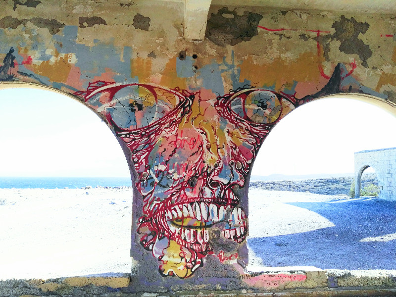 Sanatorio Abandonado | Abades | Tenerife | Graffiti