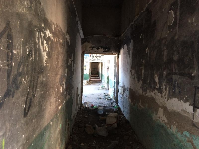 Sanatorio Abandonado | Abades | Tenerife | Pasillo