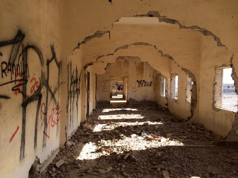 Sanatorio Abandonado | Abades | Tenerife | Sala