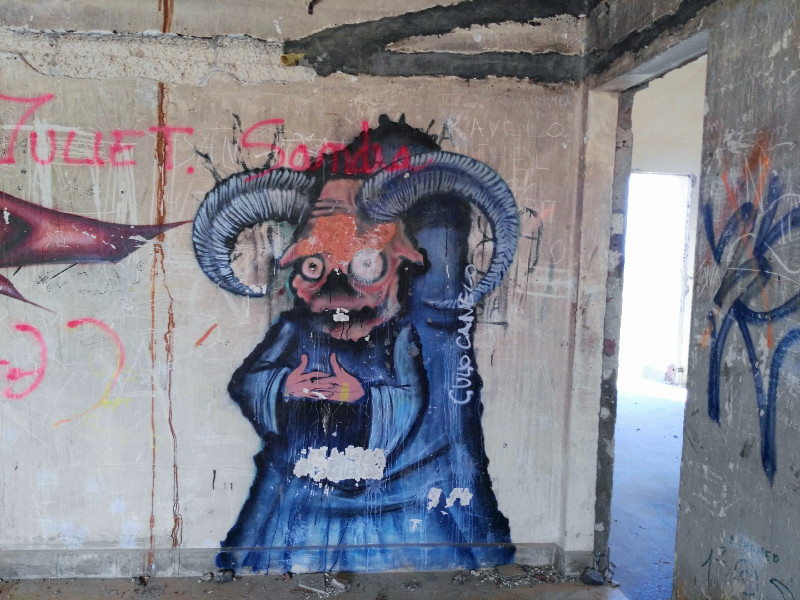 Sanatorio de Abades | Graffiti