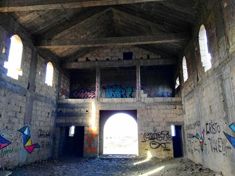 Sanatorio de Abades | Iglesia | Interior
