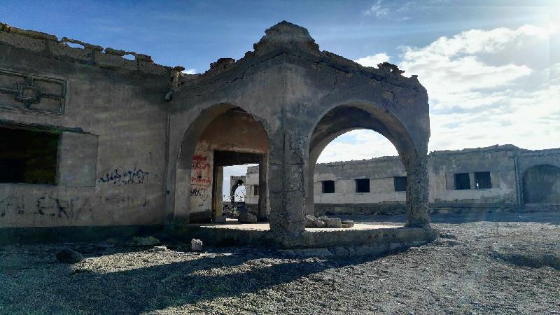 Sanatorio de Abades | Tenerife | Edificios en ruinas
