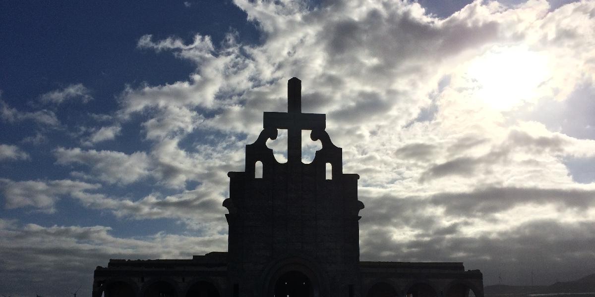 Sanatorio de Abades | Tenerife | Fachada iglesia hormigón