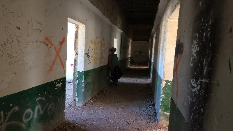 Sanatorio de Abades | Tenerife | Pasillos