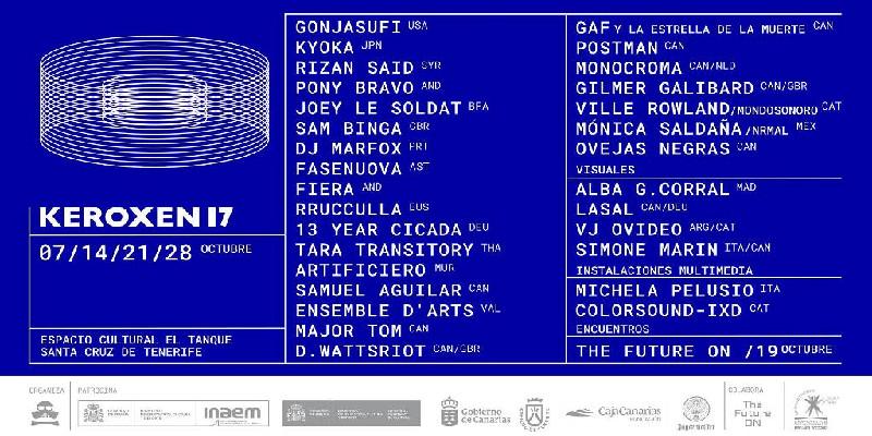 Festival Keroxen 17 | Espacio Cultural El Tanque | Santa Cruz de Tenerife
