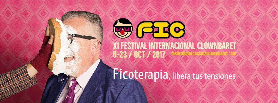 FIC 2017 | Festival Internacional de Clownbaret | Tenerife | Cartel