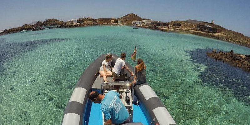 Isla de Lobos | Fuerteventura | Water taxi
