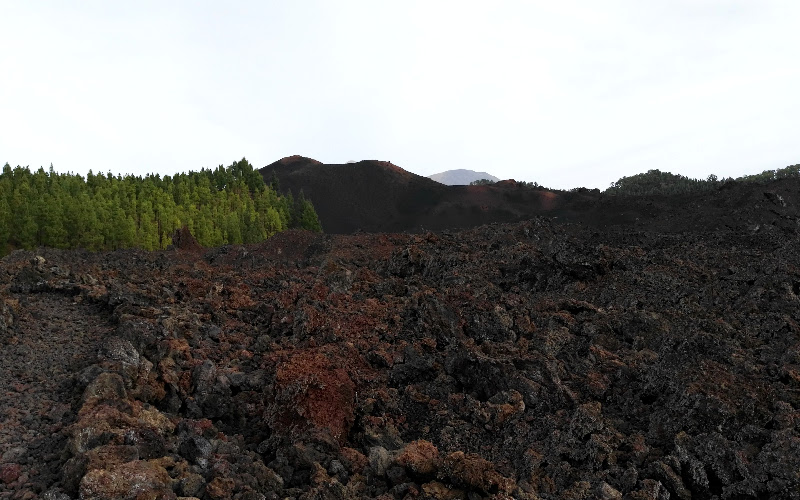 Vuelta al Chinyero | Tenerife | Coladas de lava
