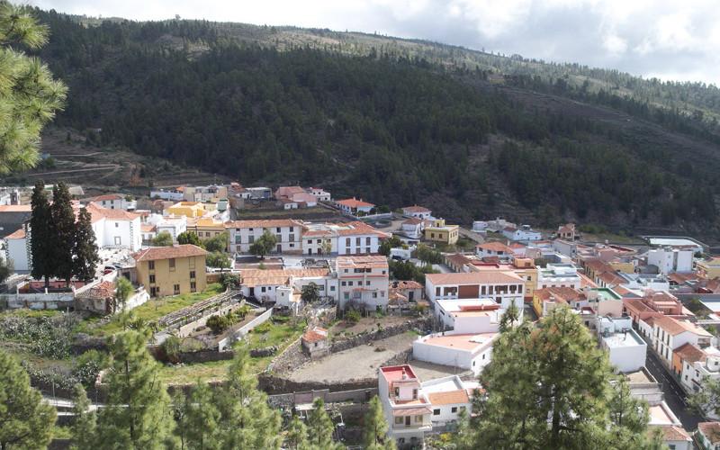 El pueblo de Vilaflor de Chasna