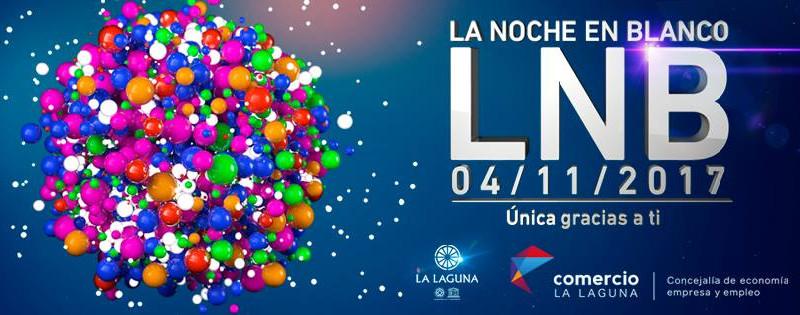 Noche en Blanco La Laguna 2017 | Cartel