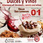 Tarde de Castañas, Dulces y Vinos | Valle de San Lorenzo