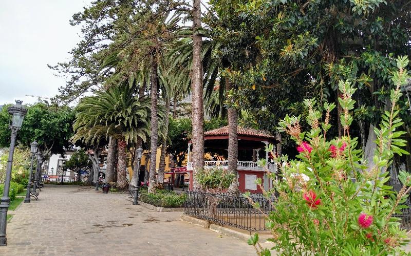Icod de los Vinos | Parque de Andrés de Lorenzo Cáceres