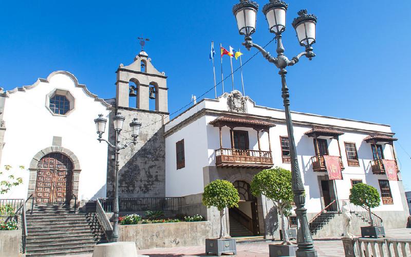 Icod de los Vinos | Plaza Luis de León Huerta | Tenerife