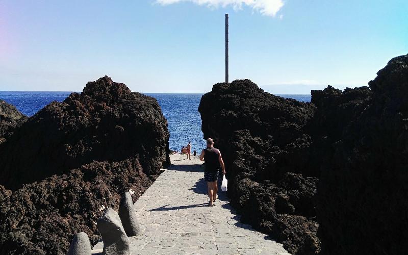 Punta de Teno | Bajada al muelle