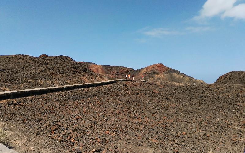 Punta de Teno   Terreno volcánico