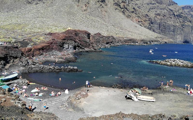 Punta de Teno | Zona de baño