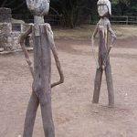 Representación de Gara y Jonay en La Gomera