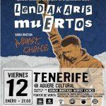 Lendakaris Muertos | Concierto en Aguere Espacio Cultural | Tenerife