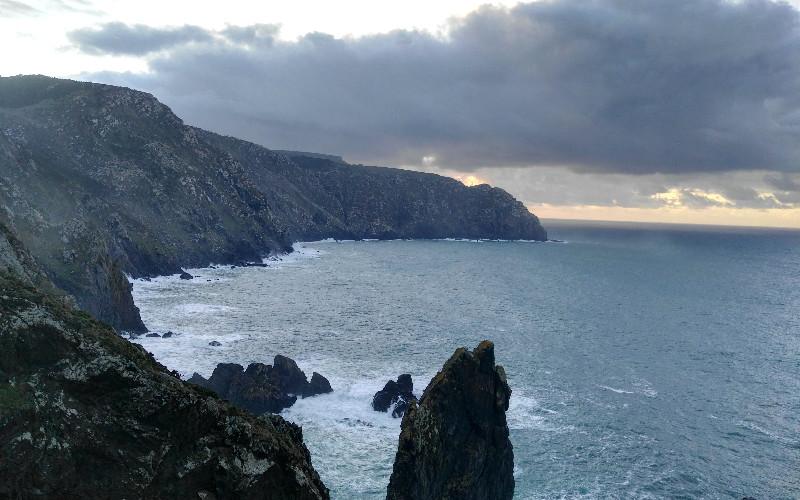 Cabo Ortegal | Vistas de los acantilados y de la Punta do Limo