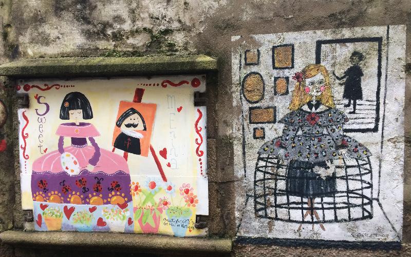 Ferrol | Barrio de Canido | Meninas