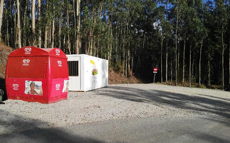 Fuciño do Porco | Kioskos del aparcamiento
