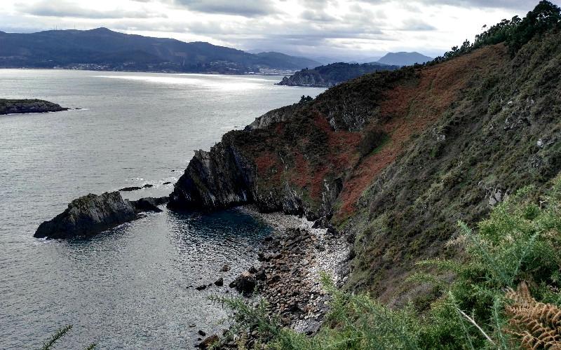 Playa inaccesible en la ruta de Fuciño do Porco | Lugo