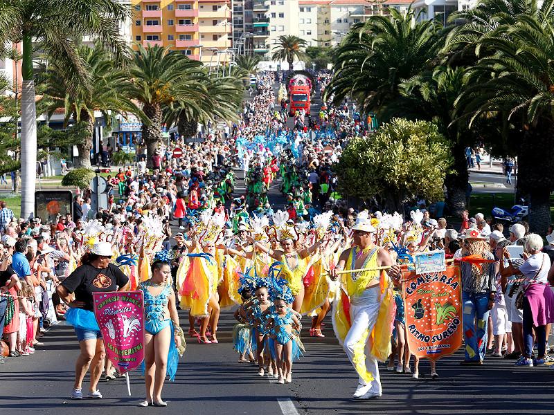 Guía de Carnavales en Tenerife Sur