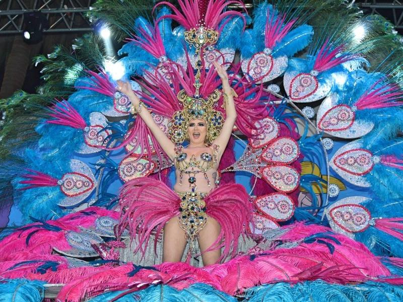 Reina del Carnaval de Los Gigantes 2017