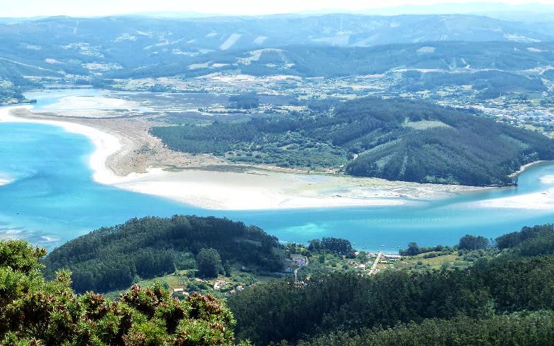 Ría de Ortigueira | Vistas desde el Mirador Miranda
