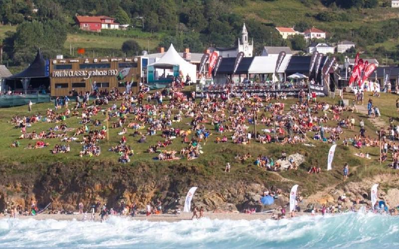 Valdoviño | Playa de Pantín | Expectación en el Campeonato de Surf 'Pantín Classic'