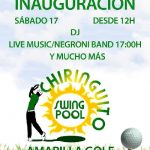 Inauguración Chiringuito Swing Pool | Amarilla Golf | Tenerife