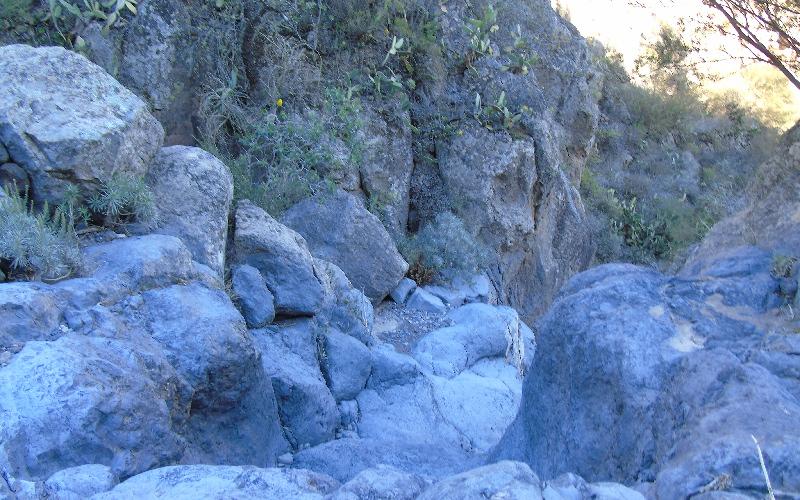 Caserío de Las Fuentes | Guía de Isora | Cruce del Barranco de Guaria