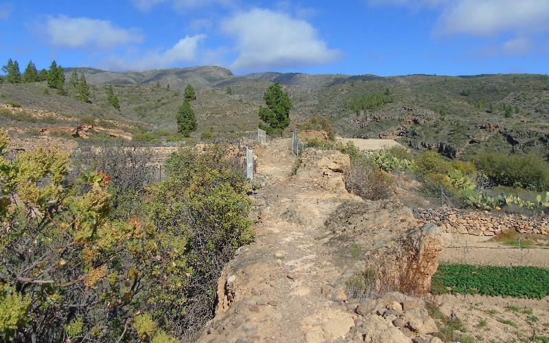 Caserío de Las Fuentes | Guía de Isora | Inicio del sendero