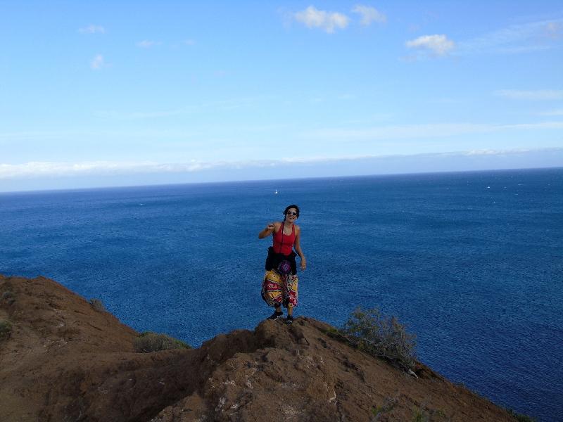 Montaña Amarilla | Tenerife Sur | Cima