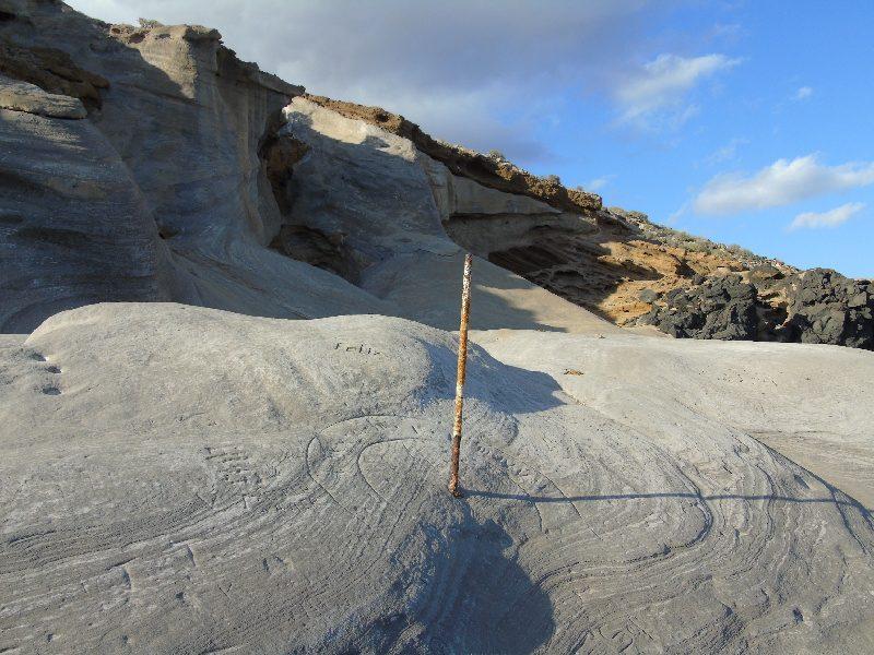 Duna fosilizada de Montaña Amarilla