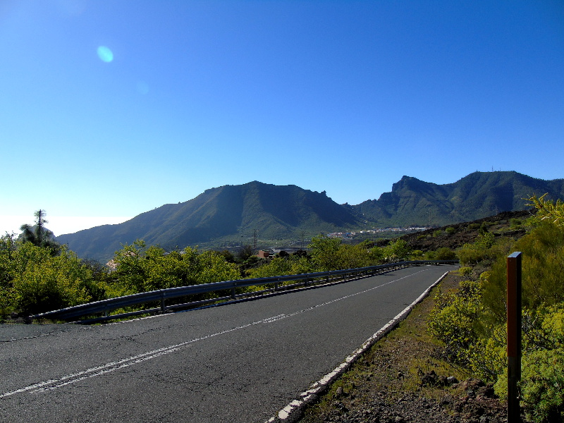 Ruta por la Montaña Bilma | Santiago del Teide | Carretera TF-375