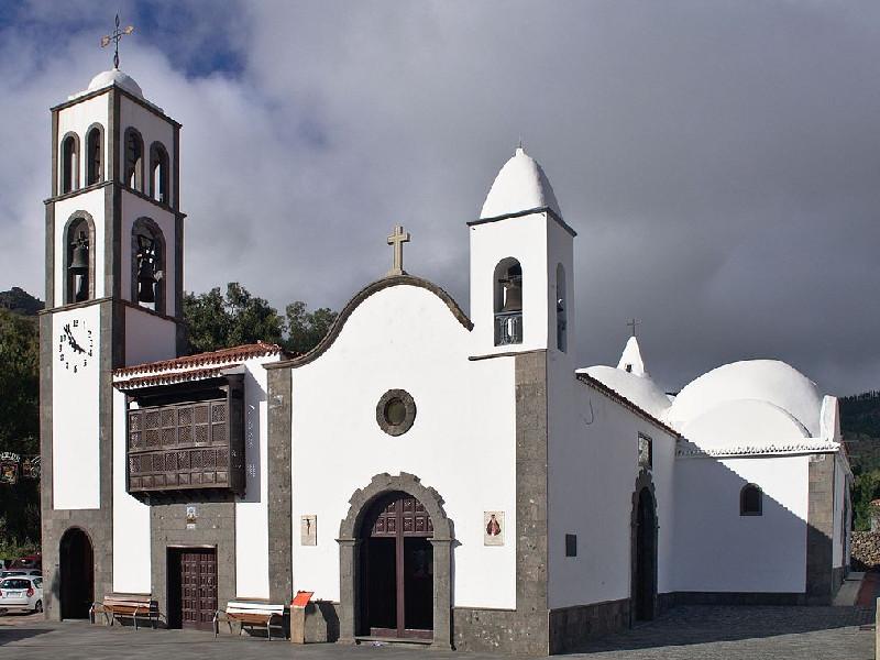 Ruta por la Montaña Bilma | Santiago del Teide | Iglesia