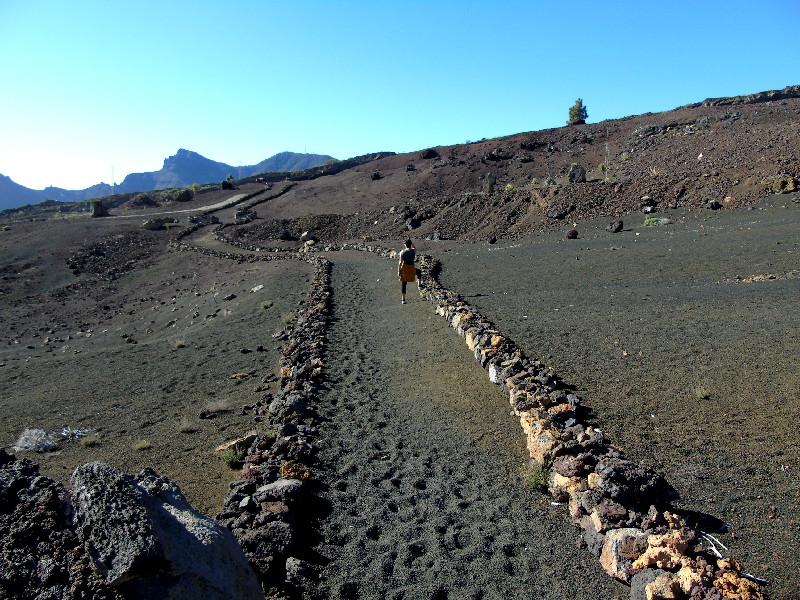 Ruta por la Montaña Bilma | Santiago del Teide | Terreno volcánico