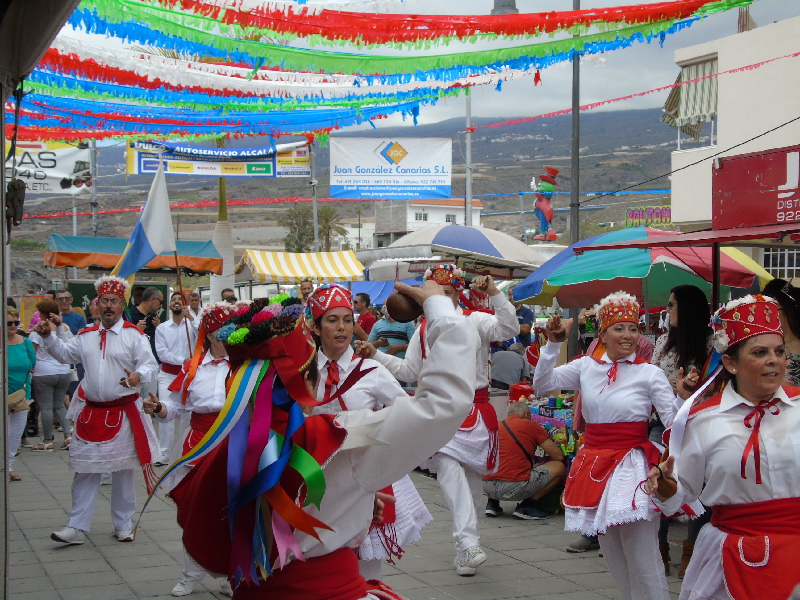 El Baile de la Virgen de El Hierro | Guía de Isora | Tenerife