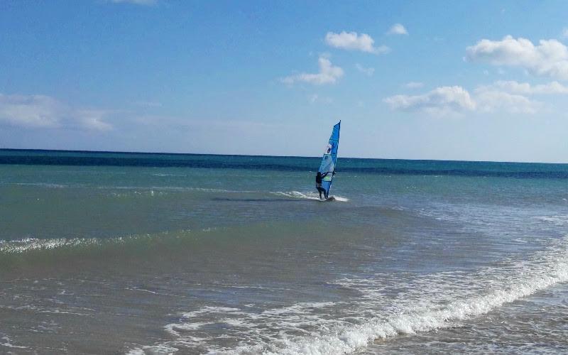 Fuerteventura | Windsurf en la playa de Sotavento