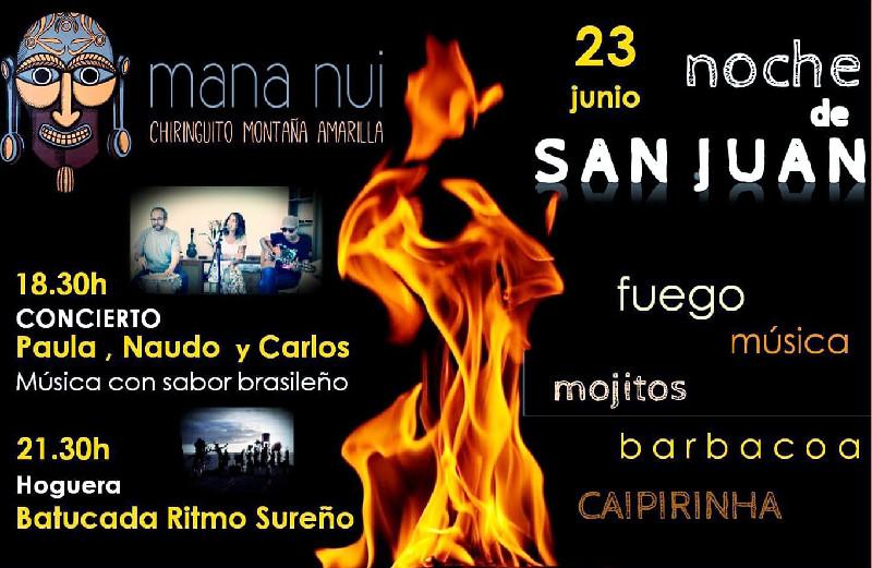 Noche de San Juan | Chiringuito Mana Nui | Montaña Amarilla | Tenerife