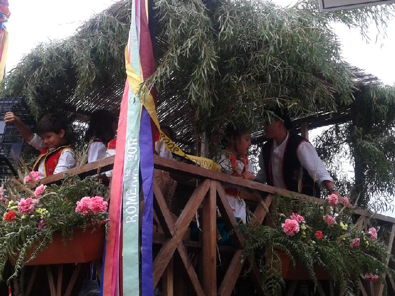 Romería de San Isidro Labrador | Carreta decorada