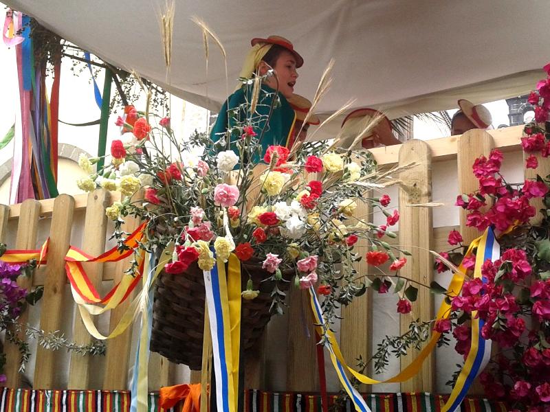 Romería de San Isidro Labrador | Carreta engalanada