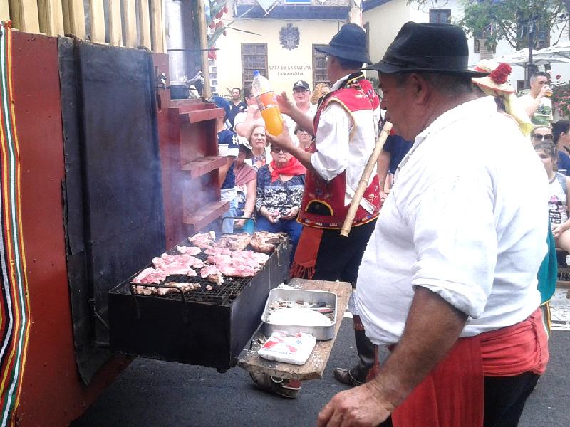 Romería de San Isidro Labrador | Gastronomía