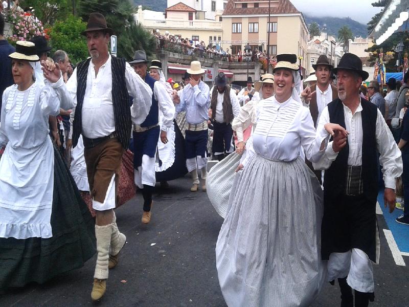 Romería de San Isidro Labrador | La Orotava | Bailes